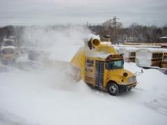 Bus Snow Removal