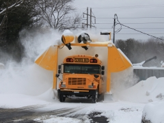 Bus Snow Removal