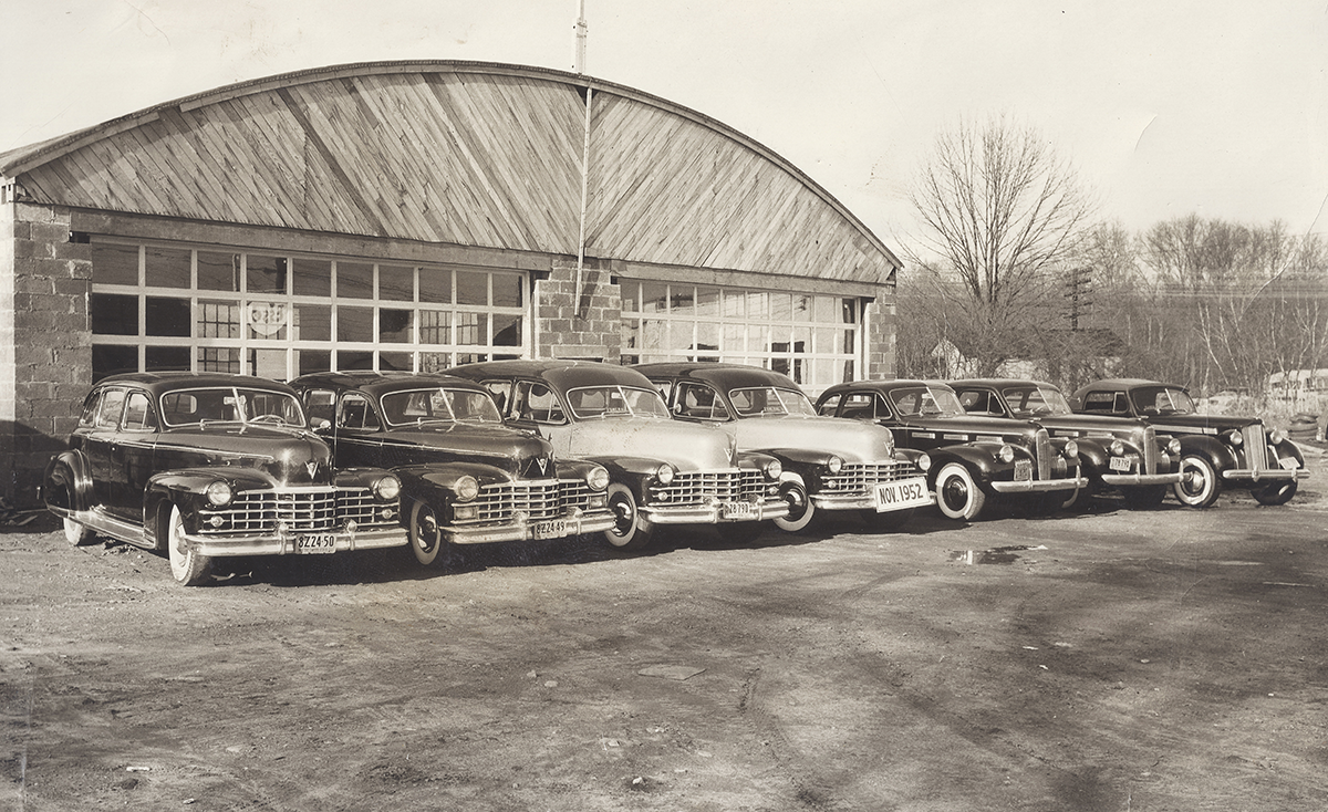 Cadillac Limo's and Taxis - 1952
