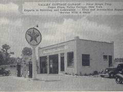 Valley Cottage Garage post card