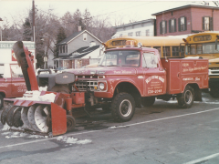 Power Wagon with snow-blower
