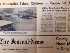 Journal News 1968 School Bus Safety