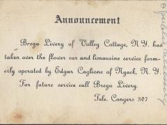 Brega Livery Service