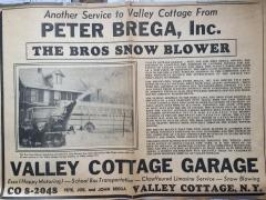 Journal News Snowblower 1961